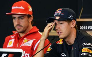 Presă: Alonso a blocat prin contract venirea lui Vettel la Ferrari