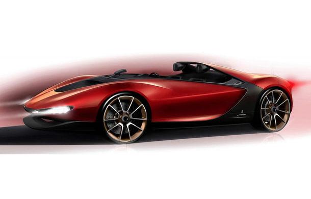Pininfarina Sergio Concept, prima schiţă oficială - Poza 1
