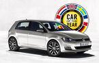 OFICIAL: VW Golf 7 este Car of the Year 2013