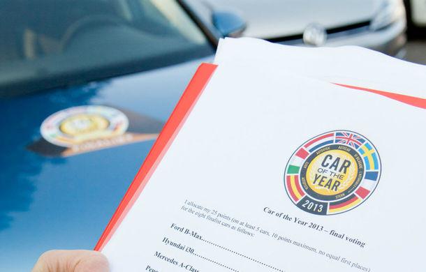 OFICIAL: VW Golf 7 este Car of the Year 2013 - Poza 5
