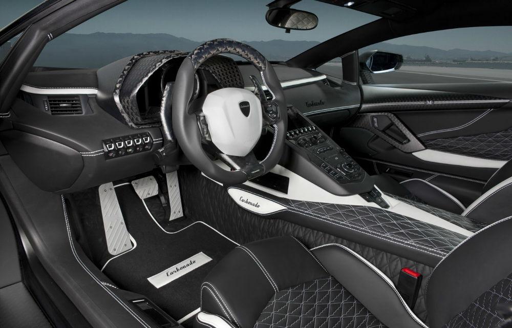 Mansory Carbonado, o versiune twin-turbo a lui Aventador, vine la Geneva - Poza 3
