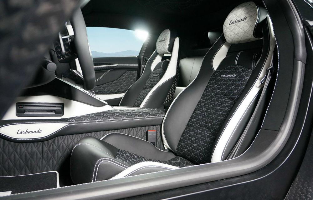 Mansory Carbonado, o versiune twin-turbo a lui Aventador, vine la Geneva - Poza 4