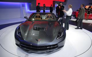 GENEVA 2013 LIVE: Standul Chevrolet are noul Corvette Stingray Convertible drept piesă de rezistență