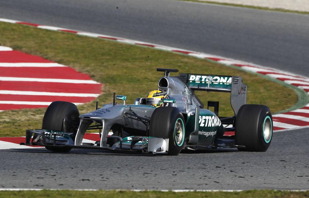 Brawn remarcă progresele efectuate de Mercedes în testele de iarnă - Poza 1