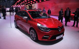 GENEVA 2013 LIVE: Renault Clio Estate GT, surpriza de 120 CP a francezilor