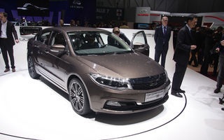 GENEVA 2013 LIVE: Qoros 3 sedan a fost atracția standului chinezesc