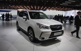 GENEVA 2013 LIVE: Subaru Forester diesel aşteaptă în tăcere vizitatorii standului