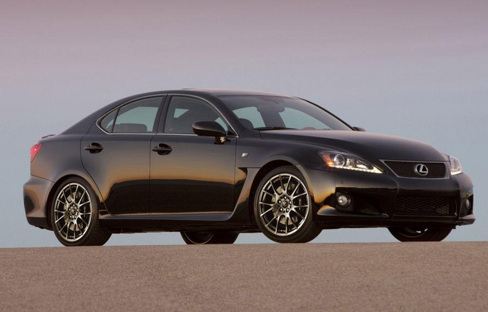 Lexus ar putea renunţa la modelul performant IS-F - Poza 1