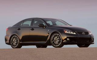 Lexus ar putea renunţa la modelul performant IS-F