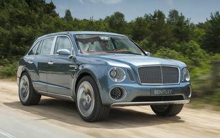 SUV-ul Bentley ar putea fi produs în Bratislava