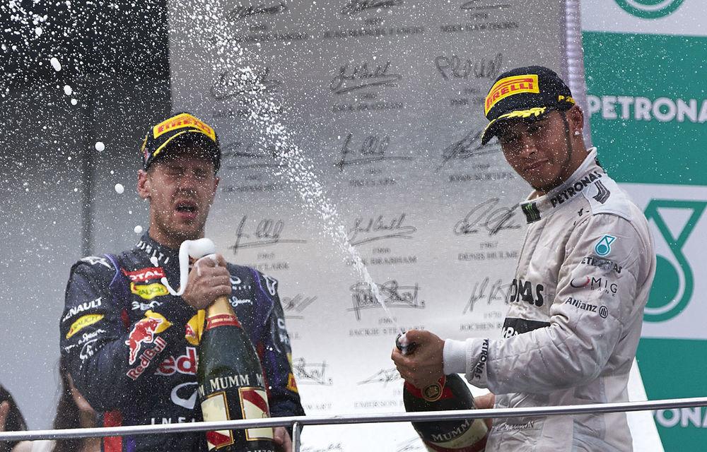 Red Bull şi Hamilton se acuză reciproc că au un pilot numărul 1 în echipă - Poza 1