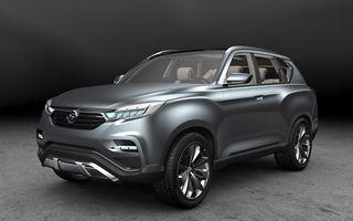 Ssangyong LIV-1 - primele imagini oficiale ale SUV-ului concept