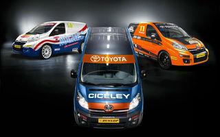 Glume de 1 aprilie: Utilitara Toyota ProAce va concura în campionatul britanic de vehicule comerciale