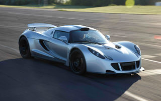 Hennessey Venom GT a atins 427.6 km/h, fiind la un pas de recordul lui Veyron Super Sport