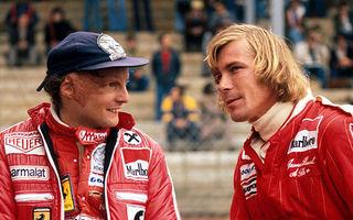 VIDEO: Primul trailer pentru Rush, filmul luptei pentru titlu din 1976 dintre Lauda şi Hunt