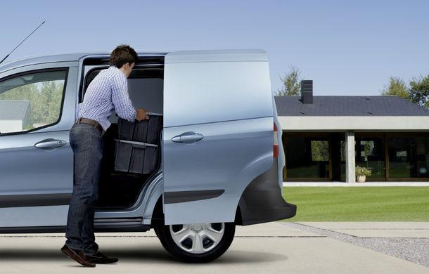 Ford Transit Courier, noul membru al gamei de vehicule comerciale Ford - Poza 8