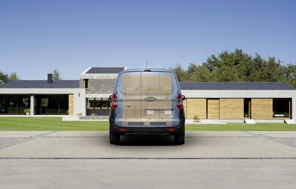 Ford Transit Courier, noul membru al gamei de vehicule comerciale Ford - Poza 7