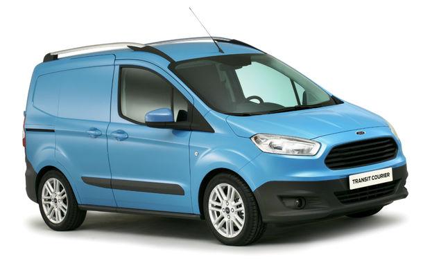 Ford Transit Courier, noul membru al gamei de vehicule comerciale Ford - Poza 1