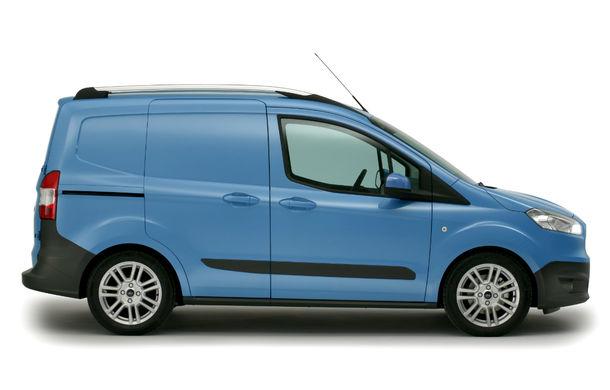 Ford Transit Courier, noul membru al gamei de vehicule comerciale Ford - Poza 3