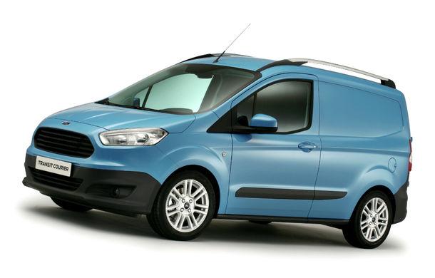 Ford Transit Courier, noul membru al gamei de vehicule comerciale Ford - Poza 2