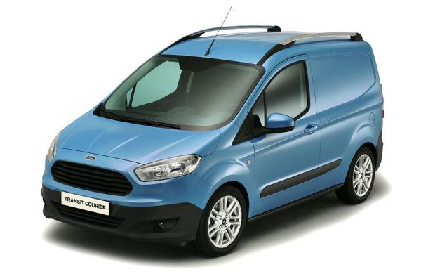 Ford Transit Courier, noul membru al gamei de vehicule comerciale Ford - Poza 5