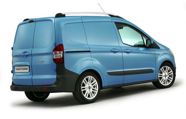 Ford Transit Courier, noul membru al gamei de vehicule comerciale Ford - Poza 4
