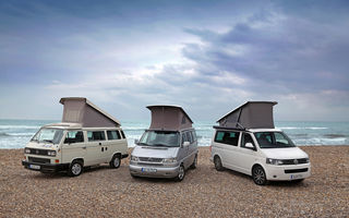 Volkswagen California - 25 de ani de existenţă pentru modelul dedicat vacanţelor