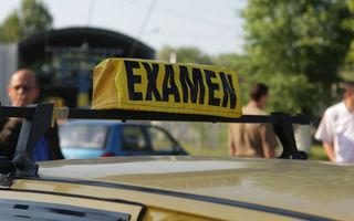 Noua formulă a examenului auto scumpeşte şcoala de şoferi cu până la 50%