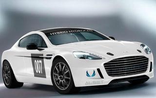Aston Martin aduce un Rapide S alimentat cu hidrogen la cursa de 24 de ore de la Nurburgring