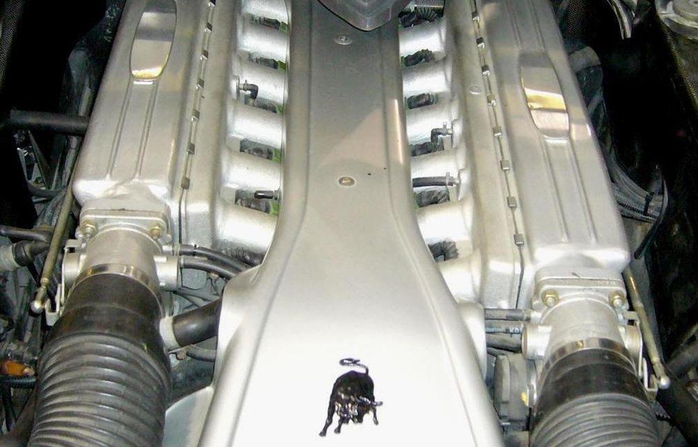 Lamborghini Pregunta, ultima creaţie independentă a italienilor, va fi scoasă la licitaţie - Poza 8