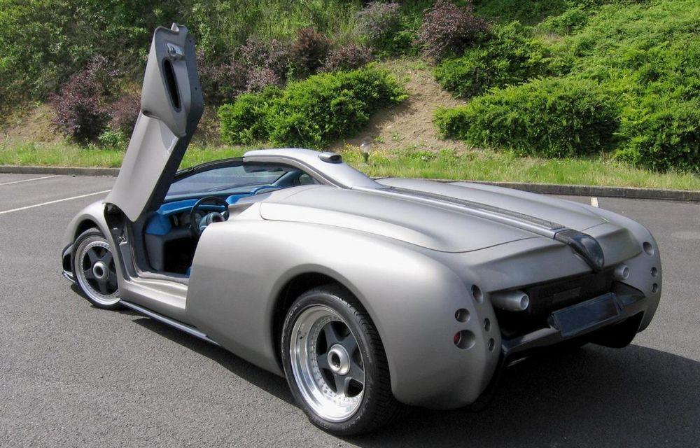 Lamborghini Pregunta, ultima creaţie independentă a italienilor, va fi scoasă la licitaţie - Poza 2