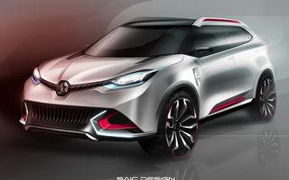 MG CS Concept: marca britanică revine în atenţia publicului sub tutelă chineză