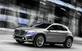 Mercedes-Benz GLA Concept, fratele SUV al lui A-Klasse, debutează la Shanghai