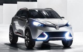 MG CS Concept - imagini şi detalii oficiale cu viitorul SUV dedicat tinerilor
