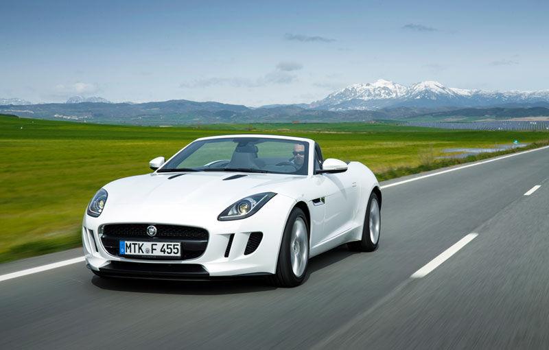 Preţuri Jaguar F-Type în România: roadsterul pleacă de la 78.120 de euro - Poza 1