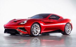 Icona Vulcano - supercarul italian cu 950 de cai putere, prezentat oficial