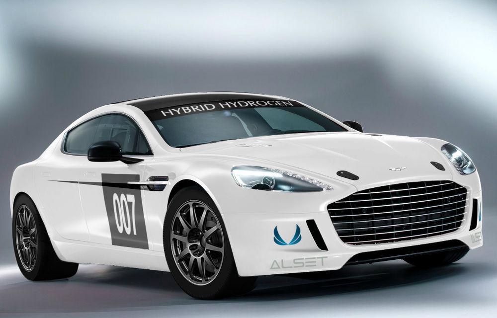 Premieră istorică pentru Aston Martin: Primul vehicul alimentat cu hidrogen care parcurge Nurburgring-ul - Poza 1