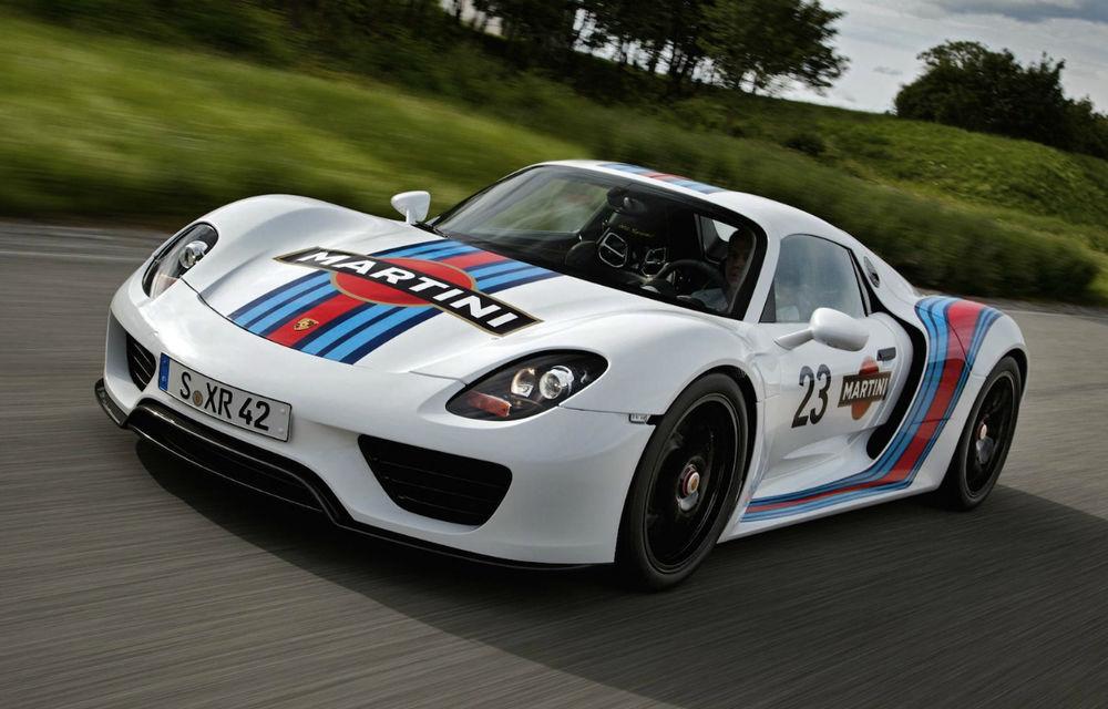 """Porsche: """"Lista de comenzi pentru 918 Spyder nu este încă închisă"""" - Poza 1"""