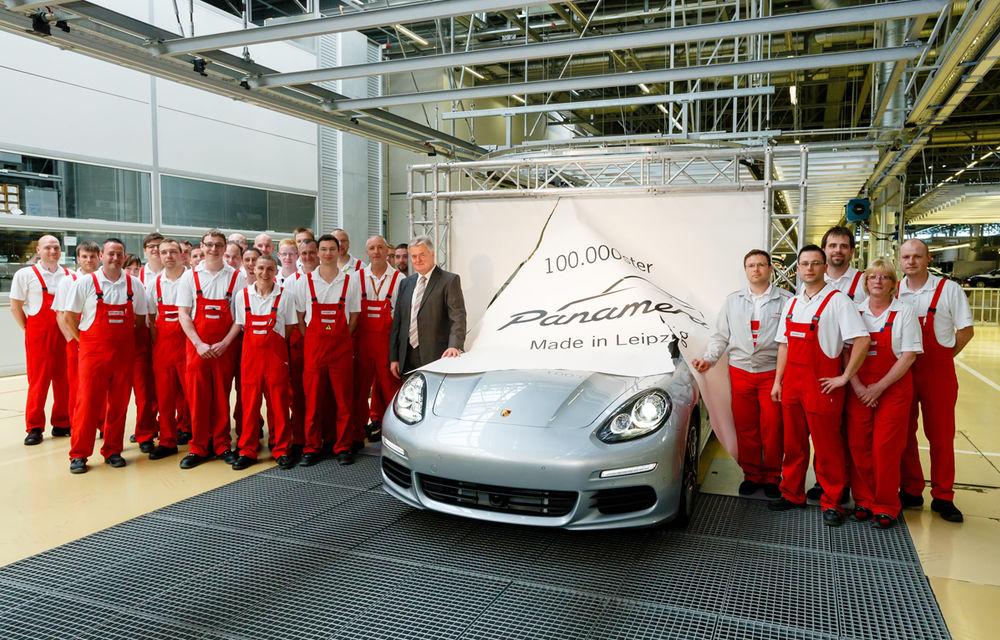 Porsche Panamera a ajuns la borna 100.000 - Poza 1