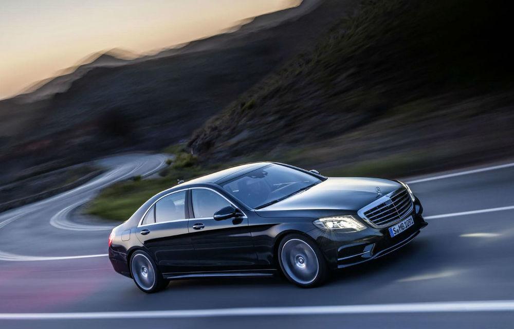 Mercedes promite un S-Klasse cu rulare autonomă în maxim opt ani - Poza 1