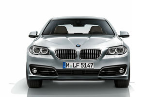 BMW Seria 5 facelift: Imagini, informaţii şi preţuri pentru România