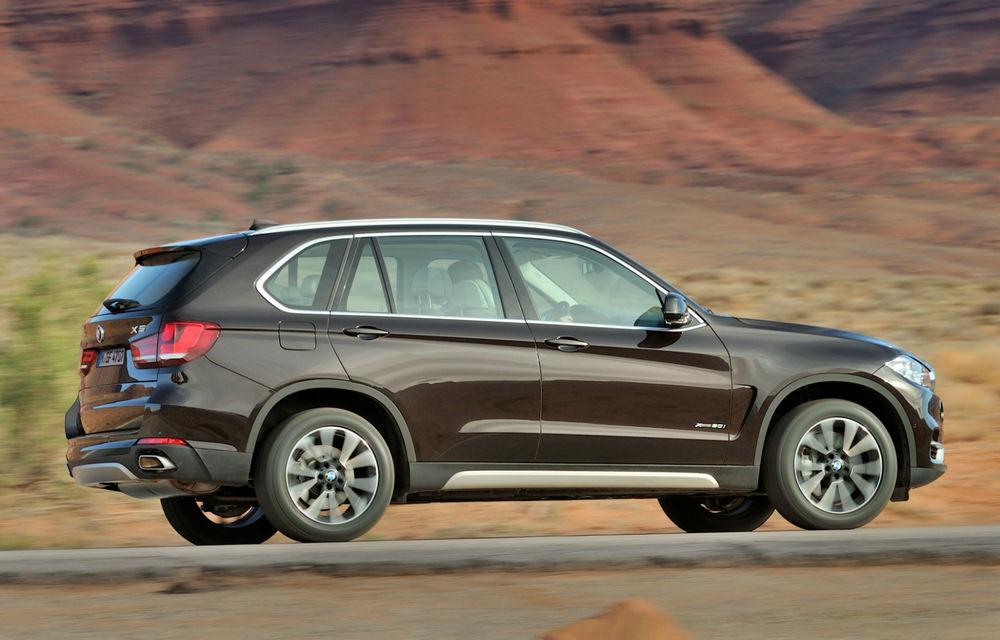 BMW X5 a ajuns la a treia generaţie - imagini şi informaţii oficiale - Poza 3