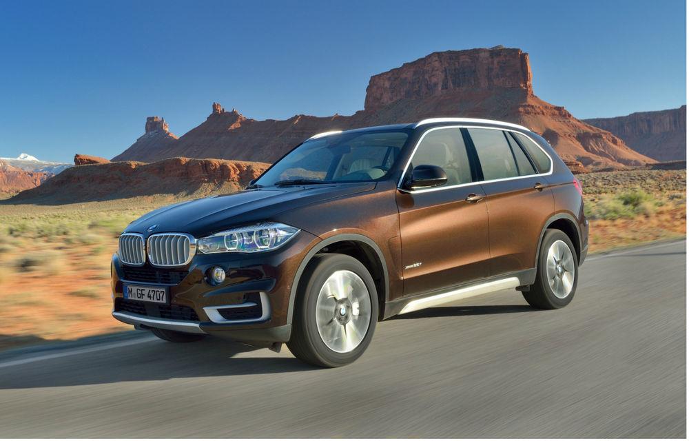 BMW X5 a ajuns la a treia generaţie - imagini şi informaţii oficiale - Poza 2