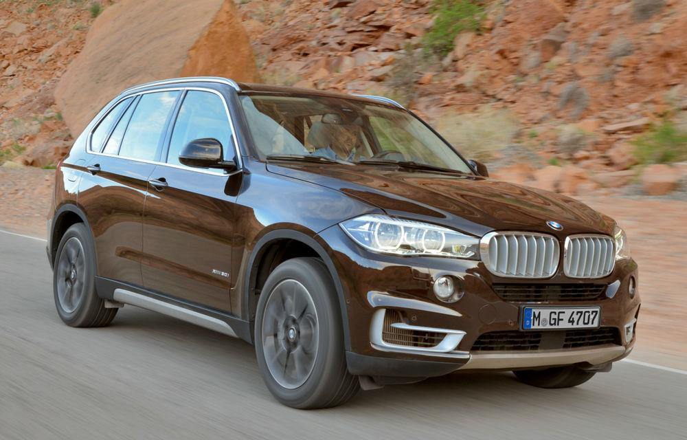 BMW X5 a ajuns la a treia generaţie - imagini şi informaţii oficiale - Poza 5