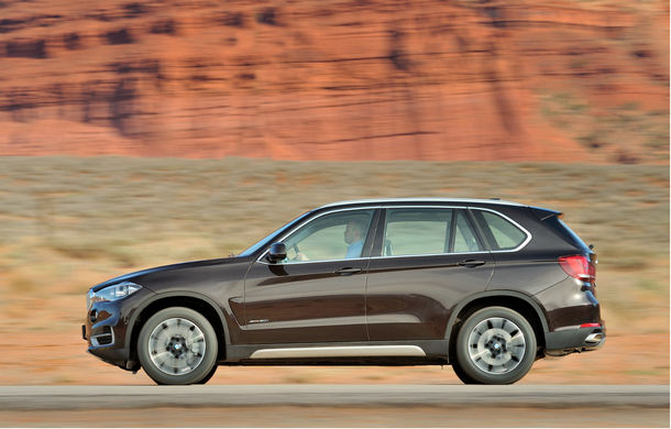 BMW X5 a ajuns la a treia generaţie - imagini şi informaţii oficiale - Poza 4