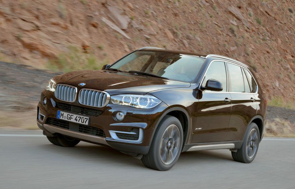 BMW X5 a ajuns la a treia generaţie - imagini şi informaţii oficiale - Poza 1
