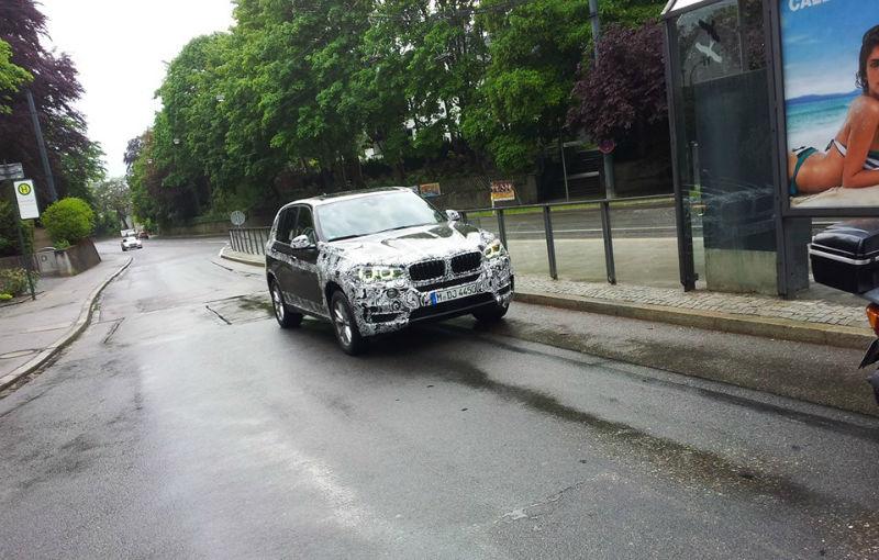 BMW X5, fotografii spion ale noii generaţii - Poza 1