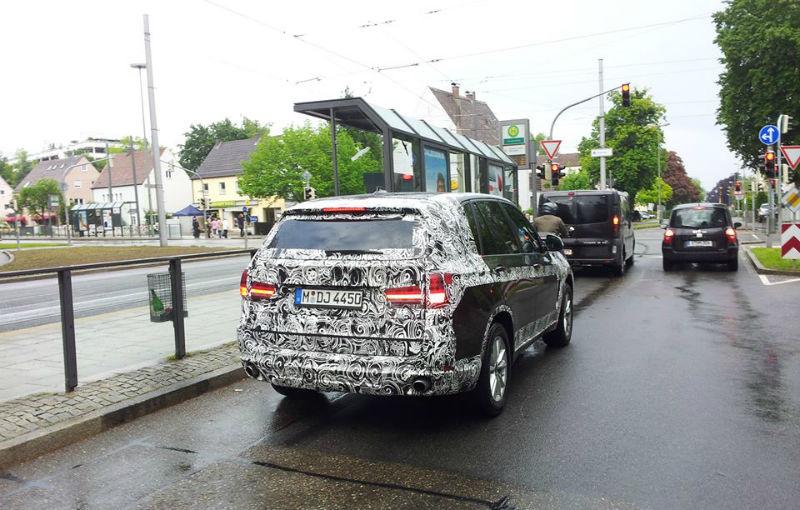 BMW X5, fotografii spion ale noii generaţii - Poza 2