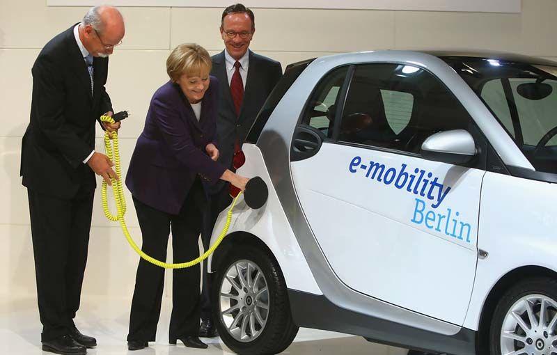 Germania îşi menţine prognoza de vânzări pentru maşinile electrice, dar realitatea contrazice aşteptările - Poza 1