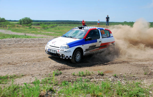 Salvatore Arcarese, singurul reprezentant al României în Clio Cup, a testat un Clio RS la Ciolpani - Poza 14